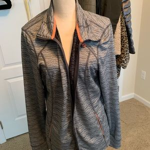 Tangerine Actiwear zip up jacket